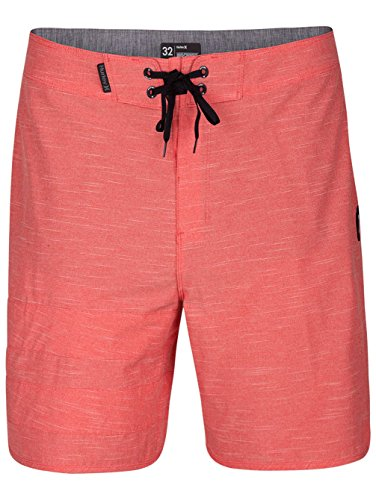 Hurley 890780 Men's Phantom Block Party Board Short, Speed Red - 32 ()