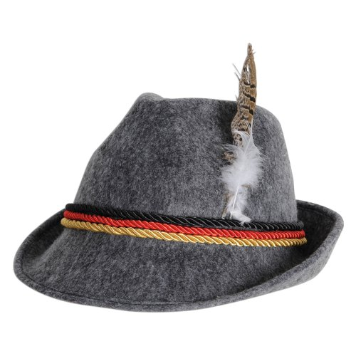 Hat Alpine Deluxe (Deluxe Oktoberfest Alpine Hat)