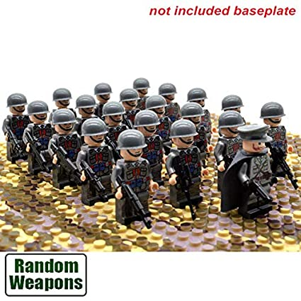 21pcs//set WW2 Army Troops France Italy Japan US Britain China Military Soldiers