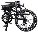 "Dahon MU LX Matte Black 20"" Folding Bike Bicycle"