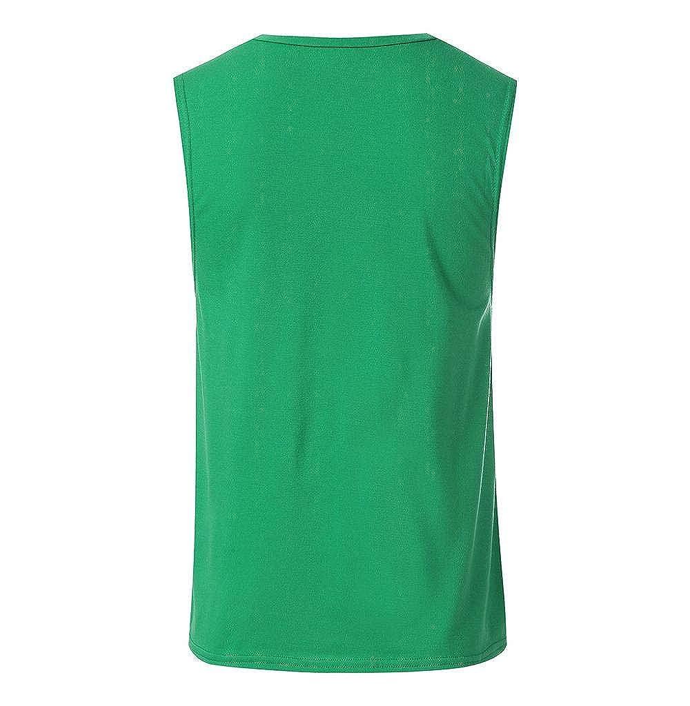 M/änner Tank top Muscle Shirt,Tomatoa Herren T-Shirt Achselshirt Gym Fitness Bodybuilding Slim Fit Sleeveless Rundhals Unterhemd Sommer Fitness Tank Top M XXXL
