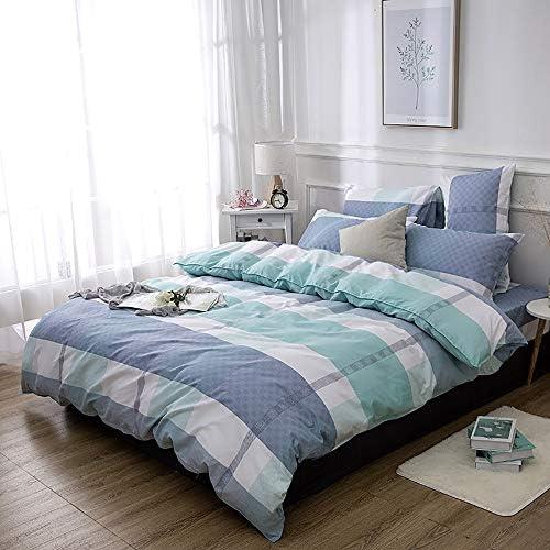 お手入れが簡単 寝室の寝具アクティブな印刷と染色キット4ピース枕カバー* 2 / Sheets/カバースクエアカラーシンプルな綿 (Size : A)