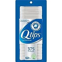 Q-tips Cotton Swabs, 375 ct