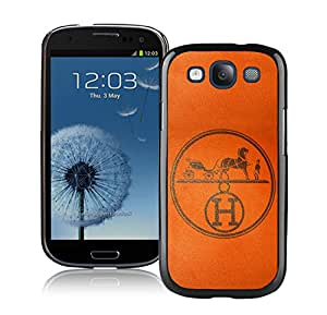 Fashion Designed Cover Case For Samsung Galaxy S3 I9300 With Hermes 8 Black Phone Case