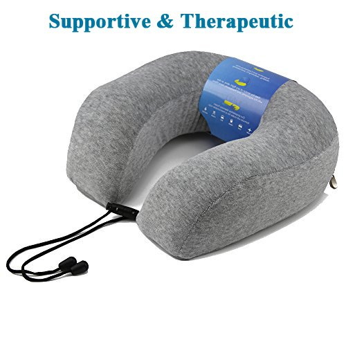 Amazoncom Neck Pillow With Premium Luxury Memory Foam Provides - 9 cool diy neck pillows for traveling or just relaxation