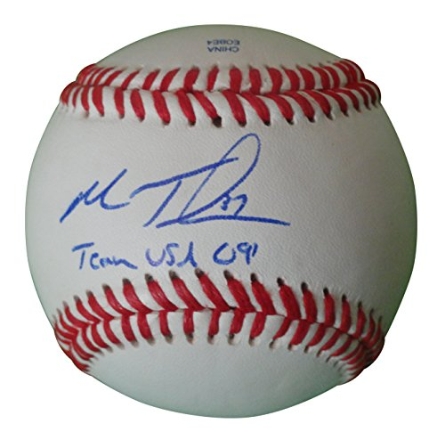 Chicago White Sox Matt Thornton Autographed Hand Signed Baseball with Team USA Inscription and Proof Photo of Signing and COA, Washington Nationals, New York Yankees, Boston Red Sox, United States ()