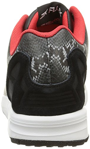 Noir Black Basses Femme ZX Core Flux Baskets B35310 Black Core Tomato adidas St SqwHvYv