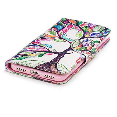 Funda Xiaomi Redmi 5 Carcasa, Mosoris PU Leather Flip Cover + TPU Silicona Interna Carcasa, Case con Cierre Magnético y Función de Soporte, Ranuras para Tarjetas y Billetera Tapa, Protectora Anti Arañ Color. 01