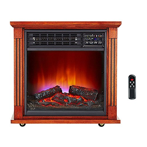 Haier Fireplace Infrared Zone Heater With Dark Oak Finish 2 Pack Hhf15cpc Space Heaters Review