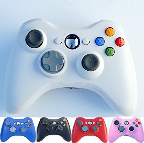 PomeMall Xbox 360 2.4G Wireless Controller (White)