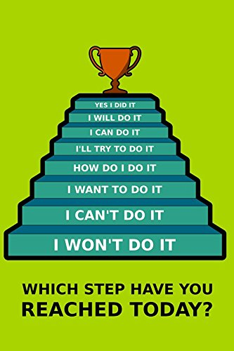 Postergully Success Steps Wall Art A4 Size Mini Poster Amazon In Home Kitchen