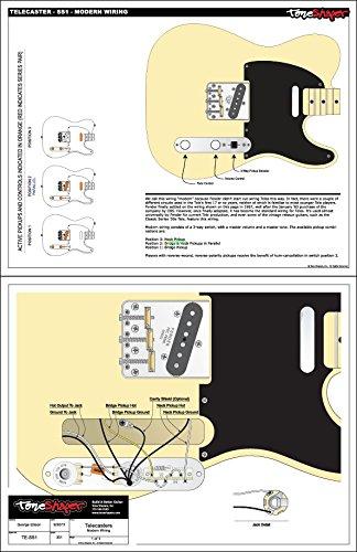 toneshaper Gitarre Verkabelung Kit, für Fender Telecaster, SS1 ...