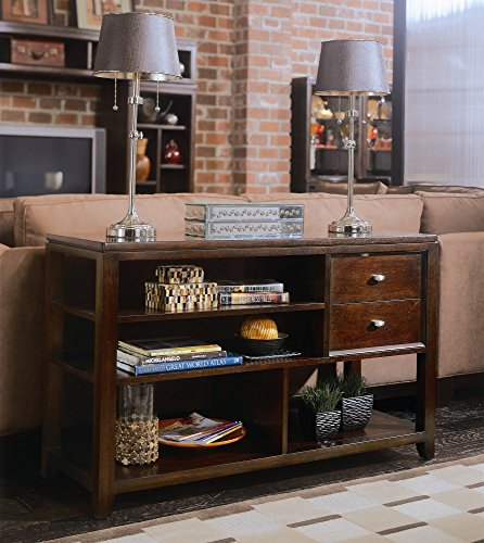 Sofa Table in Root Beer Finish - Sofa Drew American Table