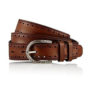 GUT INSTINKT - Cinturón de artesanía de cuero italiano de lujo artesanal - GAUCHO MI | DeHippies.com