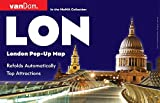 Pop-Up London Map by VanDam - City Street Map of London - Laminated folding pocket size city travel and Tube map Map – April 2016
