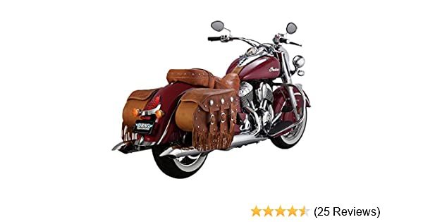 18533 Vance /& Hines Turndown Chrome Slip Ons for 2014-2016 Indian Chief