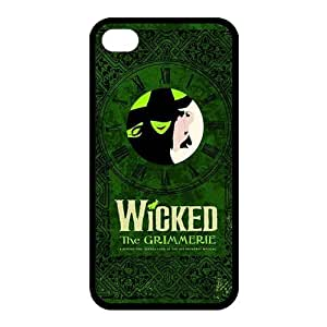 Customize The Wicked Musical Broadway Drama Back Case for iphone 4 4S JN4S-1984
