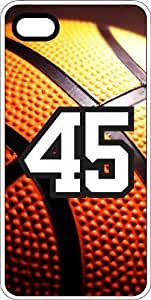 Basketball Sports Fan Player Number 43 White Rubber Decorative iPhone 6 PLUS Case
