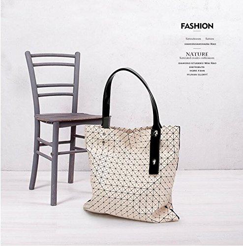 Pour Boîtes Fille Meilleur cadeaux géométrique Casual Femme bandoulière Style Sac Marque Blanc sac à aPqax87H