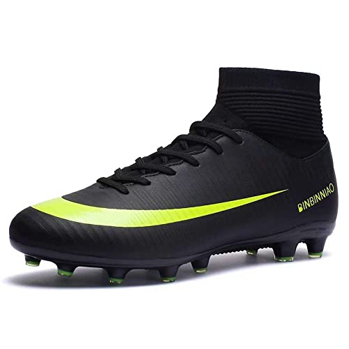 cb39fe0b EDGssi23 Men's Athletic Soccer Shoes Cleats Lightweight High-top ...