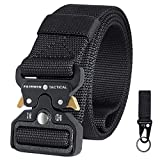Fairwin Tactical Belt, Military Utility Belt Nylon