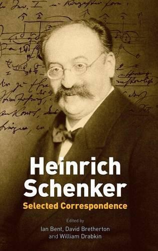 Heinrich Schenker: Selected Correspondence ebook