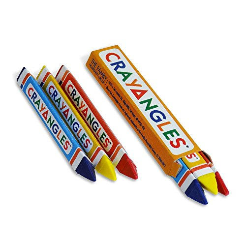 Family Hospitality 1T3B CrayAngle Triangular Crayons - 750 / CS by Family Hospitality