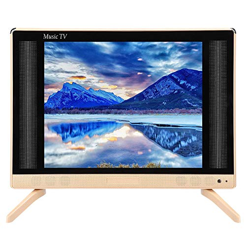 Focket Mini Television,17inch 16:9 HD LCD 1366×768 High Resolution TV Monitor High Definition Small Smart Television…