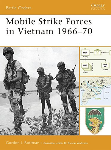 Mobile Strike Forces in Vietnam 1966-70 (Battle Orders) (Vietnam Of Battle Order)