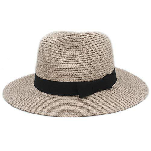 zlhcich Sombreros de Sol de Moda Sombrero de Sol Sombrero de Paja ...