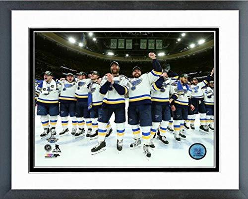 (St. Louis Blues 2019 Stanley Cup Champions Celebration Photo (Size: 12.5