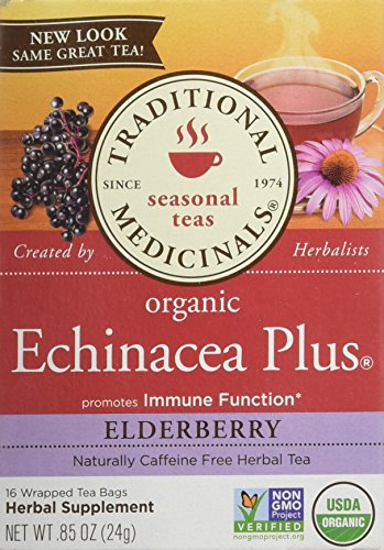 Tea Elderberry (Traditional Medicinals Echinacea Plus Elderberry)