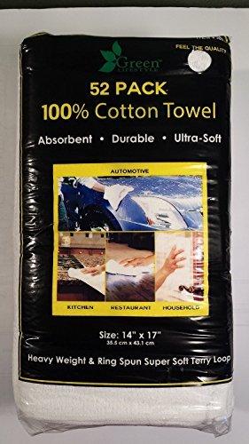 Green Lifestyle 14 X 17 100% Cotton Heavy Weight Wring Spun