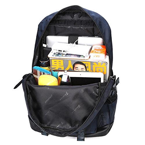 LQABW Heißer Verkauf Rucksäcke Student Taschen Freizeit Reisen Daypack Mode Computer Taschen Black eWTbd