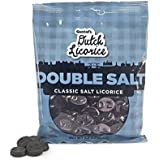 Gustaf's Traditional Dutch Double Salt Licorice 5.2 Oz Bag (Pack of 3)
