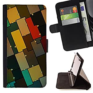 KingStore / Leather Etui en cuir / Samsung Galaxy S3 MINI 8190 / Modelo colorido