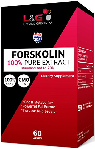 Active Forskolin Extract For Weight Loss Diet Pills & Belly