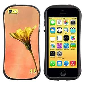 Paccase / Suave TPU GEL Caso Carcasa de Protección Funda para - Plant Nature Forrest Flower 11 - Apple Iphone 5C