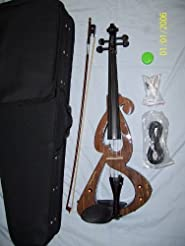 Electric Viola with case and bow