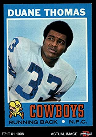 e3271c26100 1971 Topps # 65 Duane Thomas Dallas Cowboys (Football Card) Dean's Cards 7 -