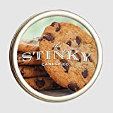 The Stinky Candle Company - Handmade Chocolate Chip Scent by The Stinky Candle Company