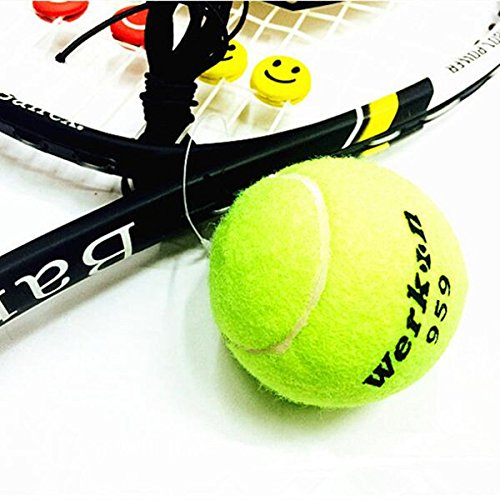 Bazaar Profession Training Tennis Ball With High Elastic Line For Beginner Tennis Exercise Device Big Bazaar