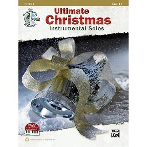 Christmas Tenor Cello - Alfred Ultimate Christmas Instrumental Solos French Horn Book & CD