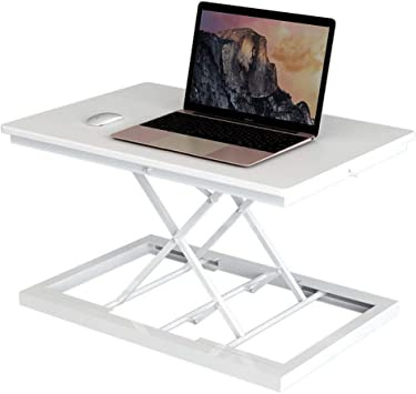37 Wide Stand Up Desk Riser Two Tiered Height Adjustable Desk Workstation With Removal Keyboard Tray Black- Tabletop Sit Stand Desk Fits Dual Monitors Standing Desk Converter Rise-X Pro