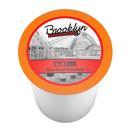 Brooklyn Beans Cyclone Single-Cup coffee for Keurig K-Cup Brewers, 40 Count