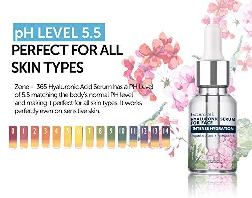 51T3gUpcX2L - Hyaluronic Acid Serum for Face, Repairs Damaged Skin, All Natural with Vitamin C, E, Jojoba Oil, Witch Hazel. (Anti Aging Formula)