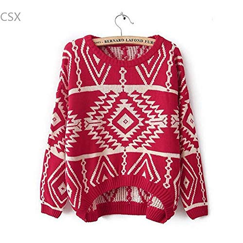 Manches Tricot SIKESONG Longues Femmes Haut Pull Lache xgRwBIR