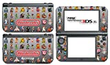 Video Game Classic Retro Characters NES Sprites Video Game Vinyl Decal Skin Sticker Cover for the New Nintendo 3DS XL LL 2015 System Console