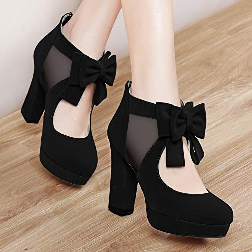 Yukun Schuhe Schuhe Schuhe mit hohen Absätzen Mode Herbst Schuhe Frühling und Sommer Mode Frühjahr High Heel dick mit Sommer Fisch Mund Sandalen Frauen Schuhe ceba26