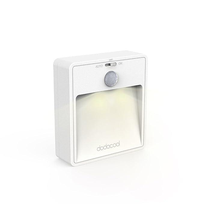 Amazon.com: dodocool – Luz LED de Noche Sensor de movimiento ...